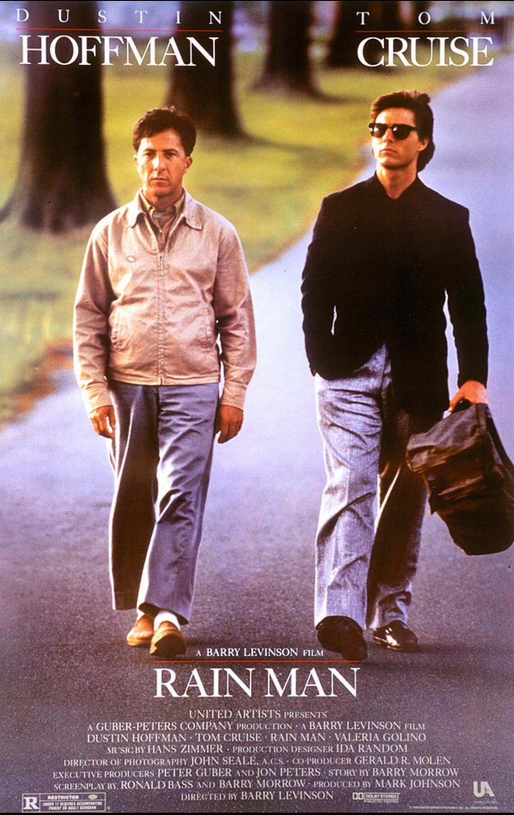 """Rain Man"" movie poster"
