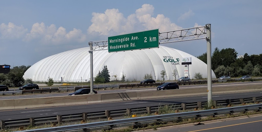 Similar to the Metro Golf Dome in Scarborough, ON, Moe Norman was a staple at the now closed Sportsworld in Kitchener during the winter.