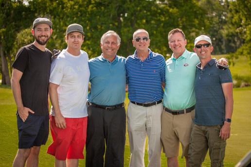 The crew with Peter Kessler