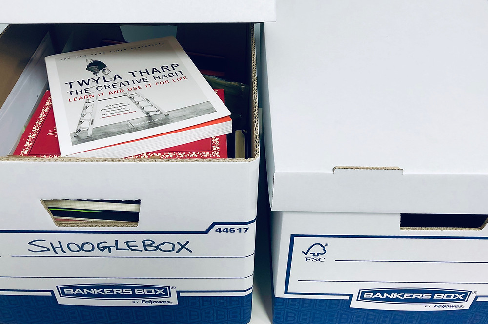 Shooglebox: Twyla Tharp's inspiration boxes