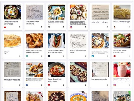 Food for thought: Shooglebox users open up their recipe boxes