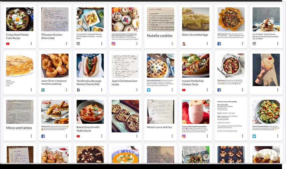 Recipes and food ideas on Shooglebox