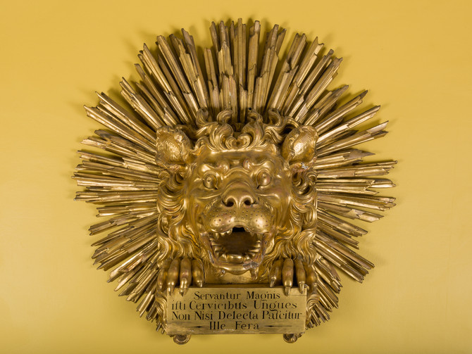Woburn Abbey and film prop makers help us recreate Addison's Lion
