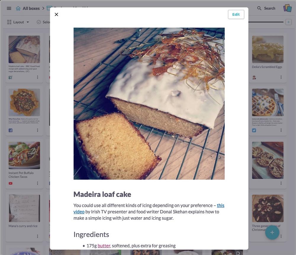 Madeira Loaf Cake