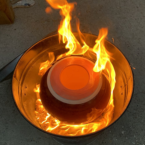 Gift Certificate: Night Raku w/ 2 Special Edition Pots to Paint + Food