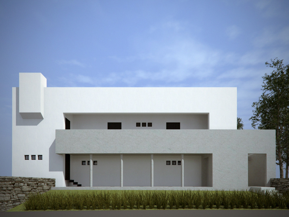 Urban detached house in Crete, 2005