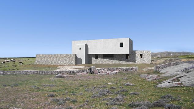 Residence in Mykonos, 2020