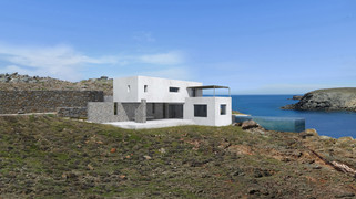 Seafront residence on hilltop, Mykonos 2020