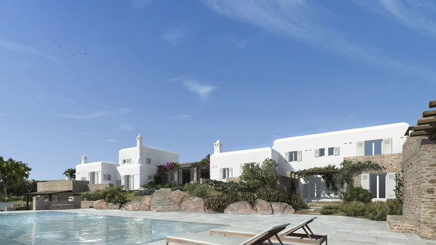 Adaptation and completion of residence, Mykonos 2014