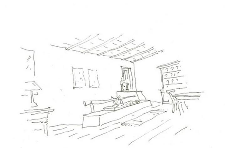 Renovation of house in Mykonos town, 1996