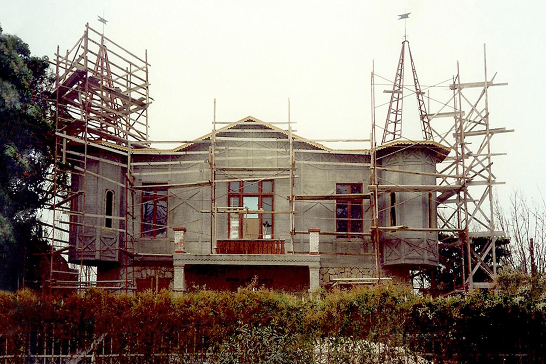 Restoration at Kifissia, 1995