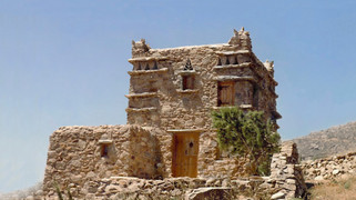 Guest house - dovecot in Mykonos, 1995