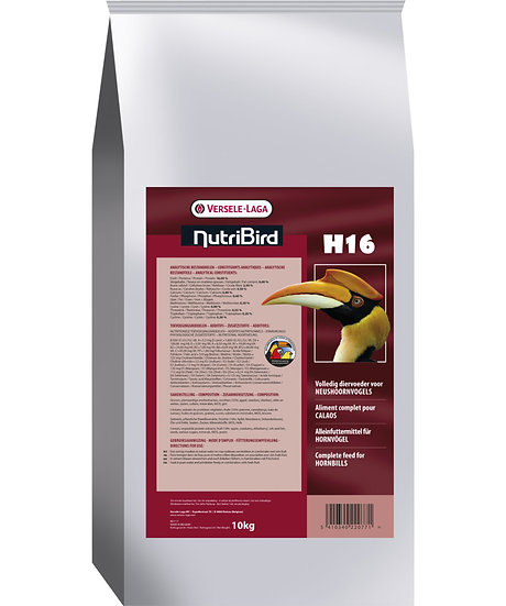 H16 - Maintenance food for hornbills