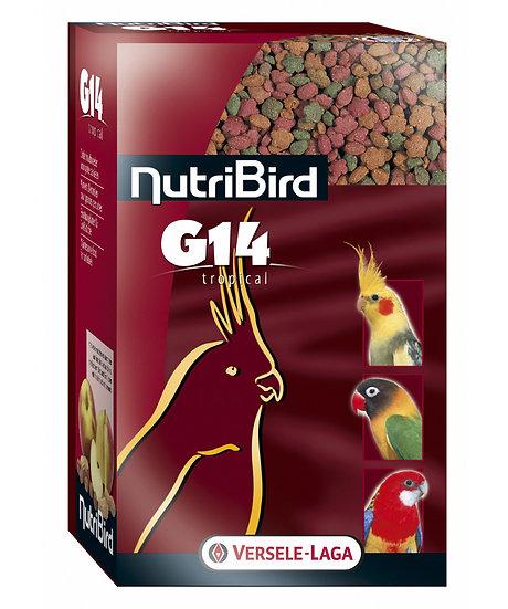 G14 Tropical - Maintenance food for big parakeets - multicolor