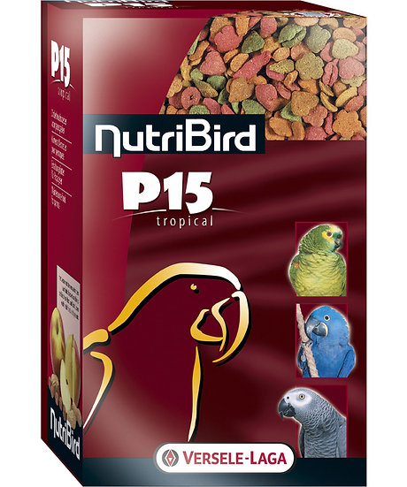 P15 Tropical - Maintenance food for parrots - multicolor