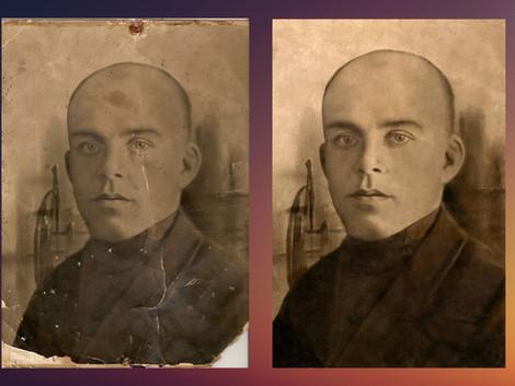 Восстановление и ретушь фотографий. Продли жизнь фотографии на 50-100 лет!