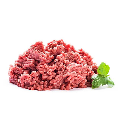 Beef mince 20% fat 100g