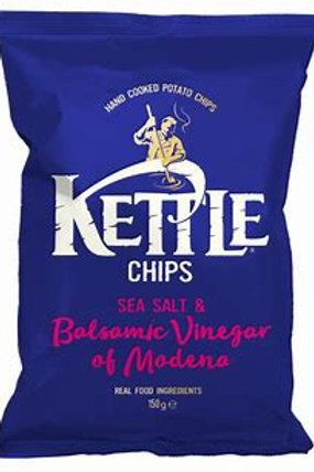 Kettle chips - Sea salt and balsamic vinegar