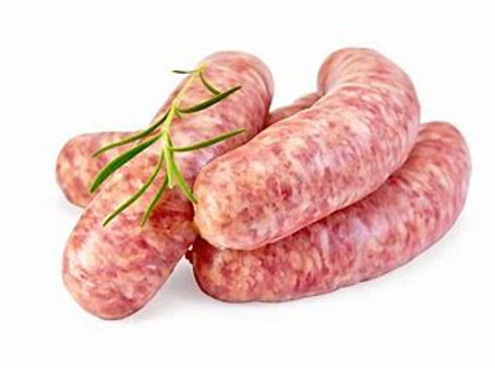Sausages - Pork and leek each