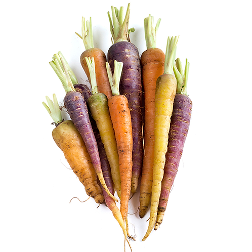 Carrots - Rainbow - 300g