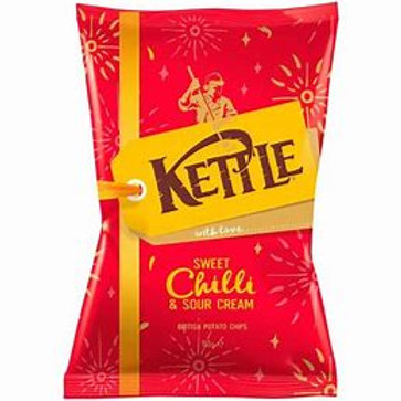 Kettle chips - Sweet chilli and sour cream