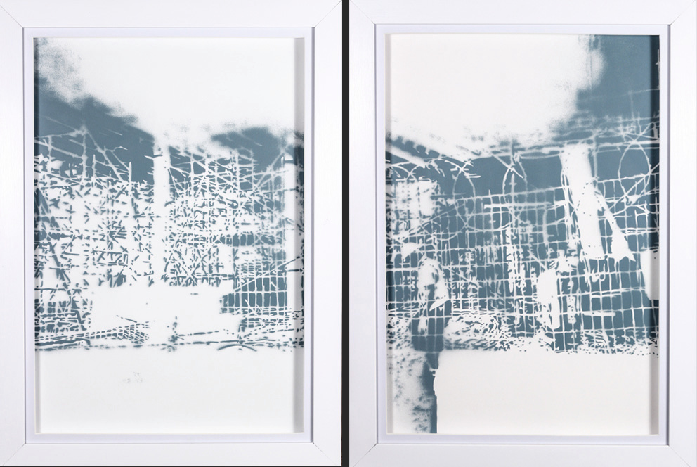 Building Bridges (diptych)