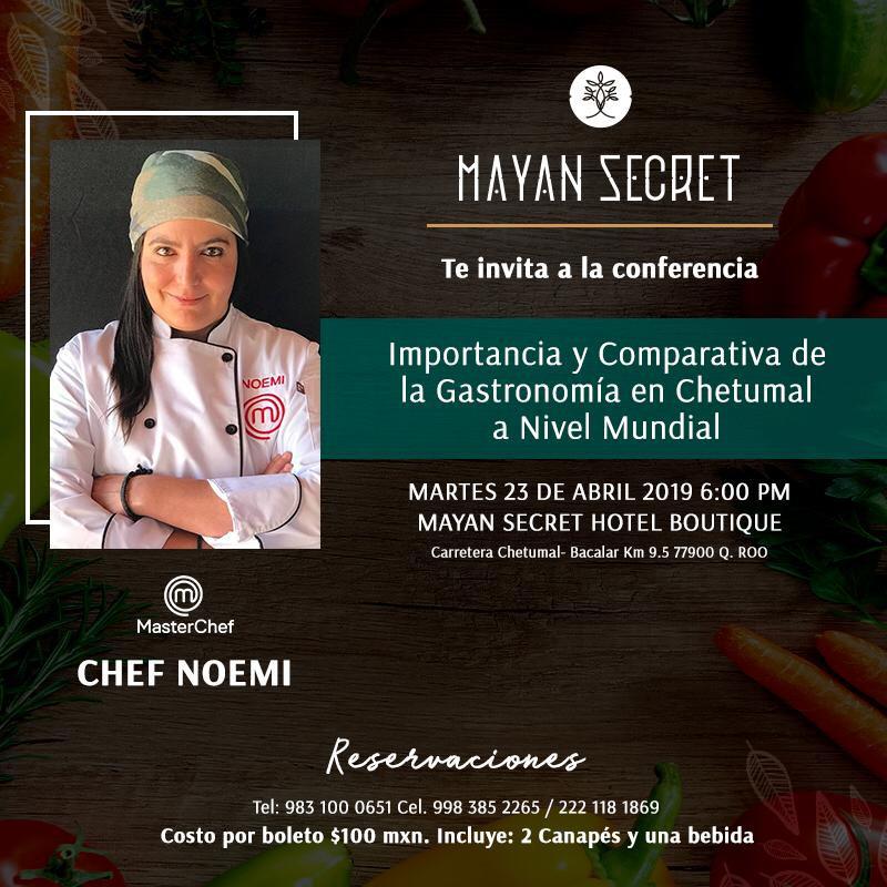 Conferencia Master Chef