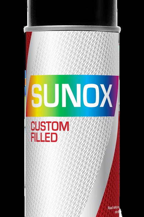SUNOX® Custom Filled Basecoat Paint Aerosol 400ml - Metallic