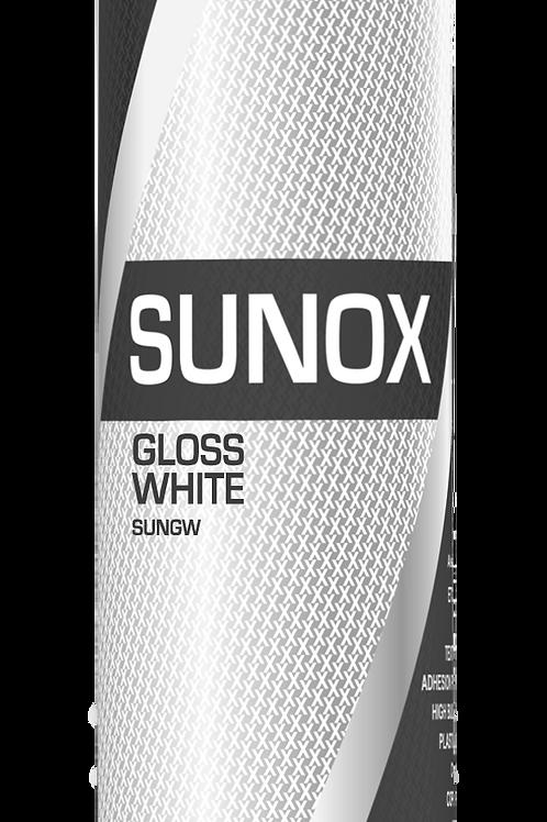 """Sunox """"TRADE"""" 1k Gloss White Aerosol 500ml"""