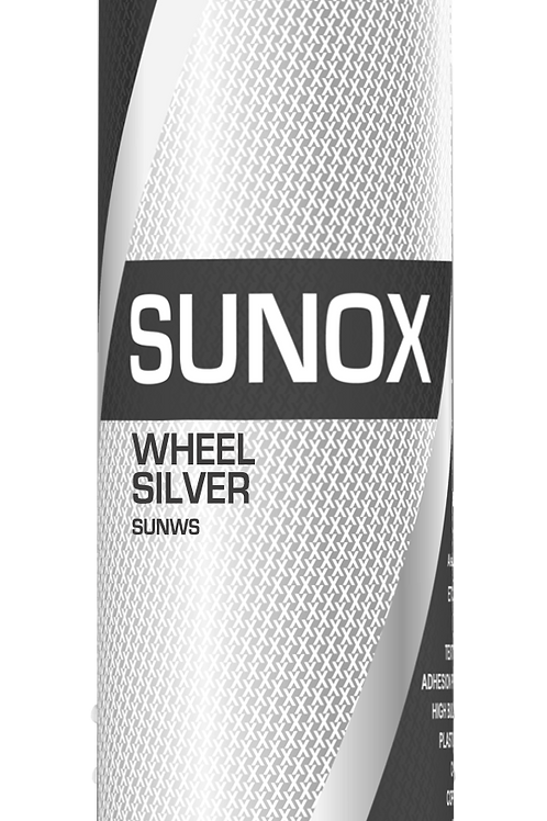 "SUNOX ""TRADE"" 1k Wheel Silver Aerosol 500ml"