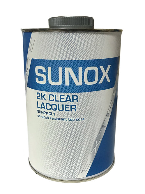 "Sunox ""SUPER"" 2k Clear Lacquer"