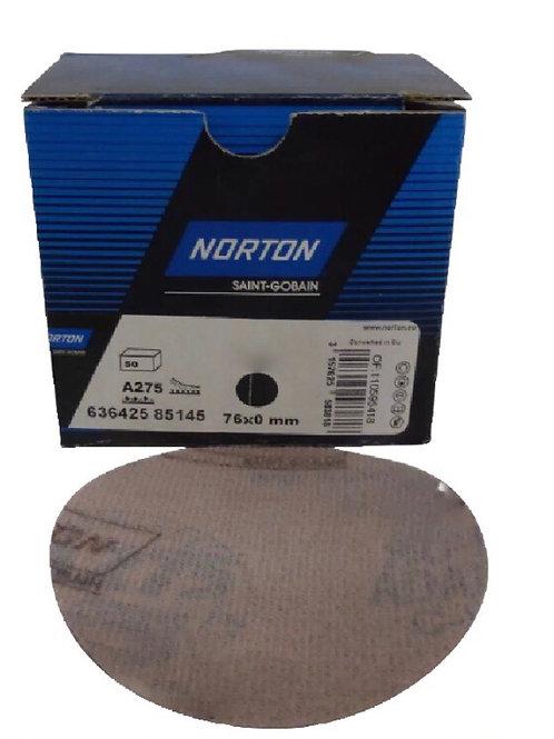 "Norton Pro A275 75mm / 3"" DA Velcro Sanding Discs 50pk"