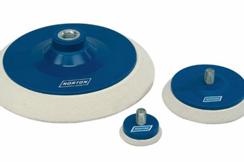 Norton Polishing Head Back Up Pad M14 150mm / 6""