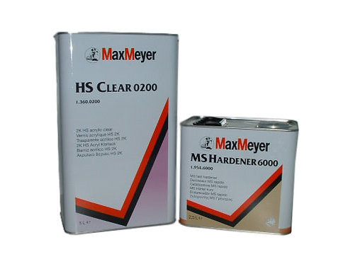 Max Meyer 0200 Lacquer & Activator 7.5L KIT