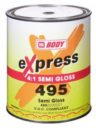 """HB 495 """"SATIN"""" 2pack Lacquer 1L"""