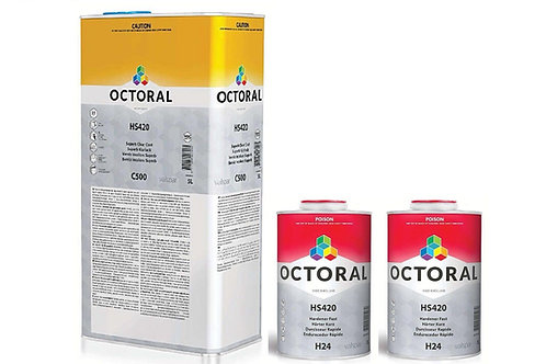 Octoral C500 Lacquer Clearcoat 2K KIT 7L
