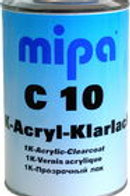 Mipa C10 Acrylic Clear 1pack Acrylic clear 5L