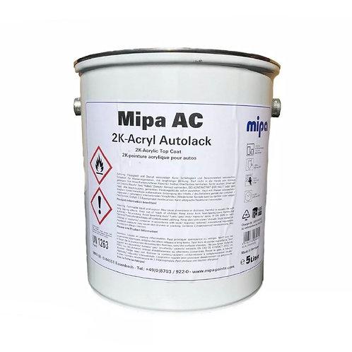 Mipa Ready Mixed Jet Gloss Black 2k 5L