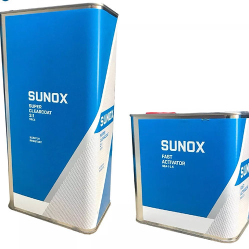 Sunox Super Clear Lacquer & Activator 7.5L Kit