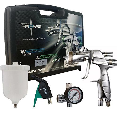 Anest Iwata WS400 / LS400 Gravity Feed Spray Gun Showcase kit