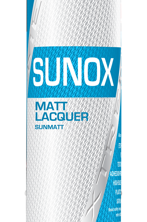 Sunox Extreme 1k Matt Lacquer Aerosol 400ml