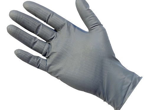 PRO Ultragrip+ Grey Nitrile Powder Free Gloves 50pc