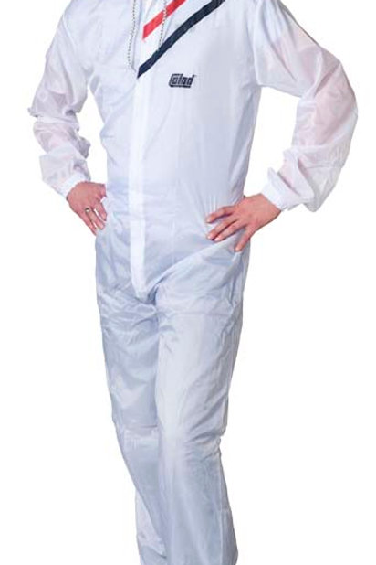 Colad Nylon Spray Overall White