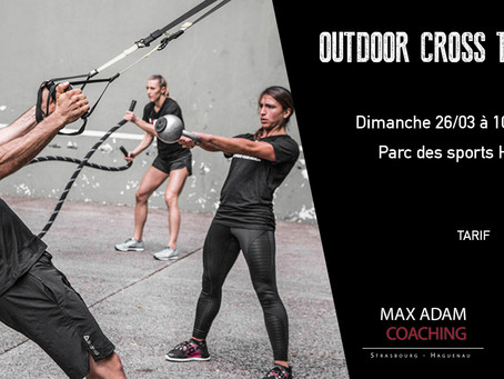 Outdoor Cross Training 26/03