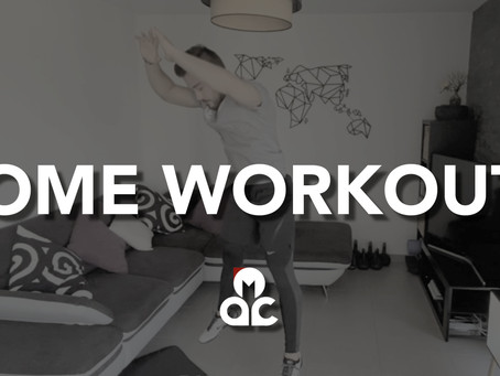 "3 ""HOME WORKOUT"" à faire durant le confinement"