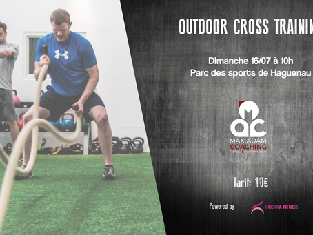 Outdoor Cross Training 16/07