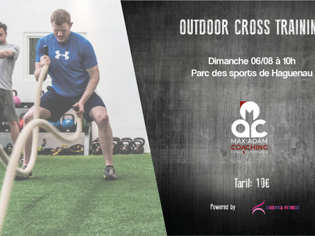 Outdoor Cross Training 06/08