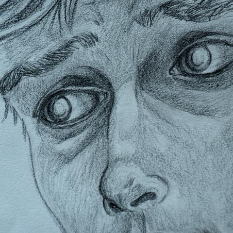 Detail: Self Portrait