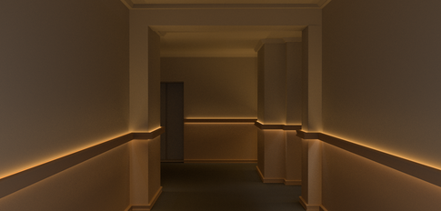 Gurley Building Lighting Design Render