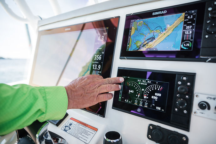 Simrad Screens